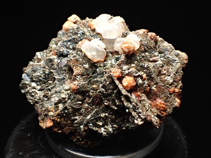 コソボ産パイライト <ピロータイト仮晶>&アーセノパイライト (Pyrite Pseudomorph after Pyrrhotite & Arsenopyrite / Kosovo)-photo1