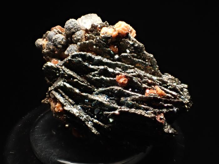 コソボ産パイライト <ピロータイト仮晶>&アーセノパイライト (Pyrite Pseudomorph after Pyrrhotite & Arsenopyrite / Kosovo)-photo5