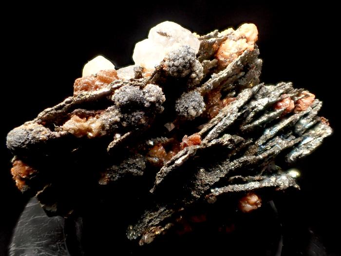 コソボ産パイライト <ピロータイト仮晶>&アーセノパイライト (Pyrite Pseudomorph after Pyrrhotite & Arsenopyrite / Kosovo)-photo12