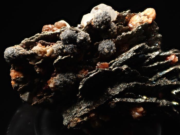コソボ産パイライト <ピロータイト仮晶>&アーセノパイライト (Pyrite Pseudomorph after Pyrrhotite & Arsenopyrite / Kosovo)-photo16