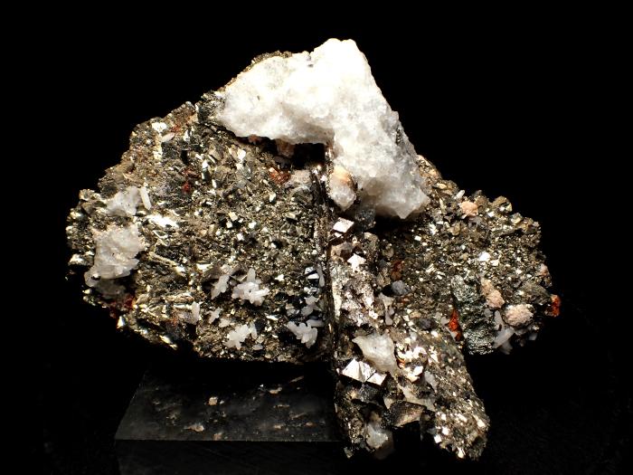 コソボ産パイライト <ピロータイト仮晶>&アーセノパイライト (Pyrite Pseudomorph after Pyrrhotite & Arsenopyrite / Kosovo)-photo0