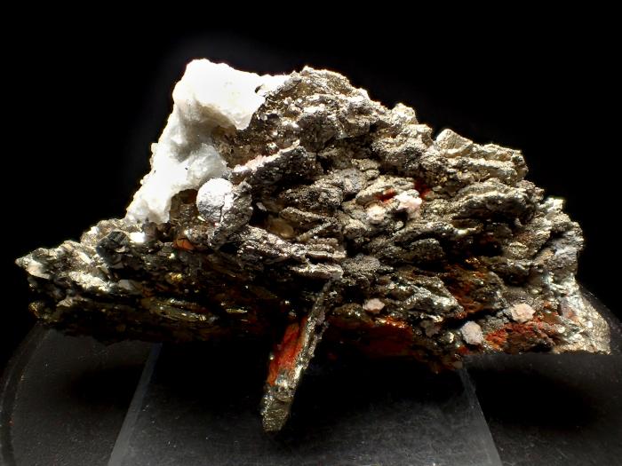 コソボ産パイライト <ピロータイト仮晶>&アーセノパイライト (Pyrite Pseudomorph after Pyrrhotite & Arsenopyrite / Kosovo)-photo4