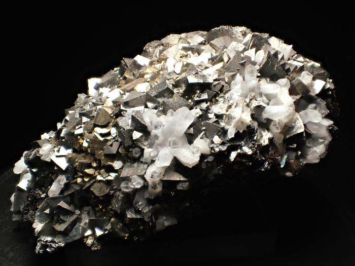 コソボ産アーセノパイライト、キャルコパイライト&クォーツ (Arsenopyrite, Chalcopyrite & Quartz / Kosovo)-photo0