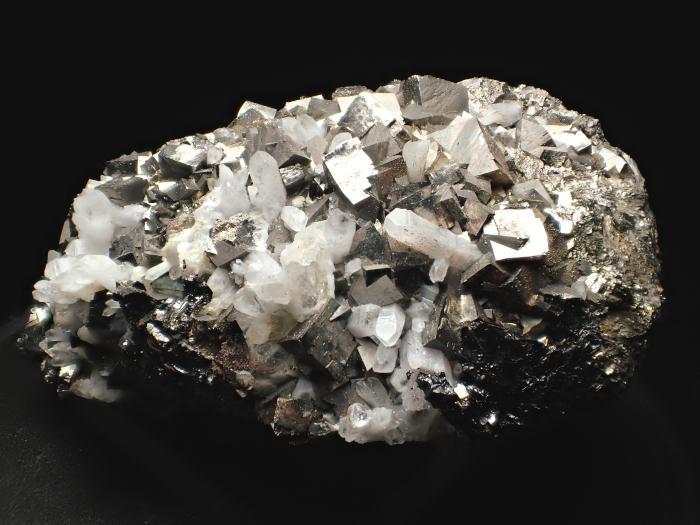 コソボ産アーセノパイライト、キャルコパイライト&クォーツ (Arsenopyrite, Chalcopyrite & Quartz / Kosovo)-photo1