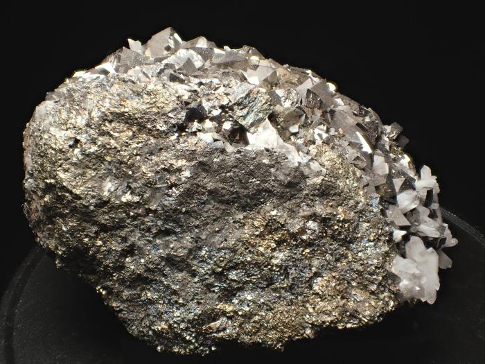 コソボ産アーセノパイライト、キャルコパイライト&クォーツ (Arsenopyrite, Chalcopyrite & Quartz / Kosovo)-photo4