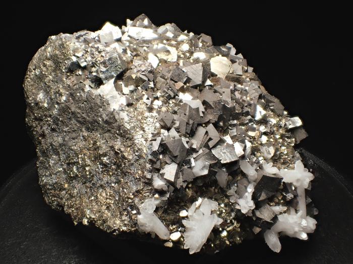 コソボ産アーセノパイライト、キャルコパイライト&クォーツ (Arsenopyrite, Chalcopyrite & Quartz / Kosovo)-photo5