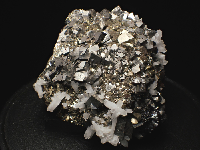 コソボ産アーセノパイライト、キャルコパイライト&クォーツ (Arsenopyrite, Chalcopyrite & Quartz / Kosovo)-photo6