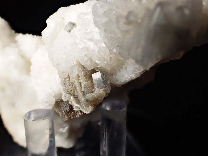 メイン産フローアパタイト、クォーツ&モスコバイト (Fluorapatite, Quartz & Muscovite / Maine)-photo15