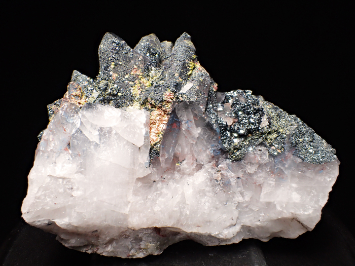 メッシナ産クォーツ、パパゴアイト、ヘマタイト&エピドート (Quartz, Papagoite, Hematite & Epidote / Messina)-photo0
