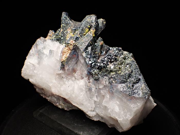 メッシナ産クォーツ、パパゴアイト、ヘマタイト&エピドート (Quartz, Papagoite, Hematite & Epidote / Messina)-photo1