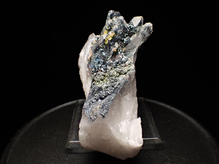 メッシナ産クォーツ、パパゴアイト、ヘマタイト&エピドート (Quartz, Papagoite, Hematite & Epidote / Messina)-photo2