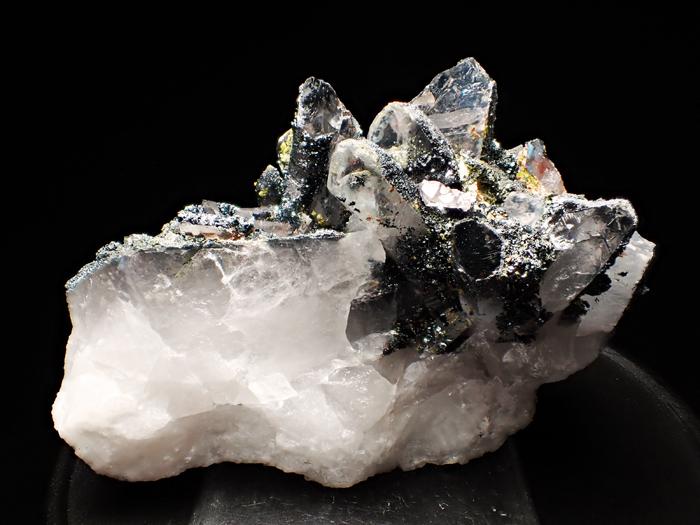 メッシナ産クォーツ、パパゴアイト、ヘマタイト&エピドート (Quartz, Papagoite, Hematite & Epidote / Messina)-photo4