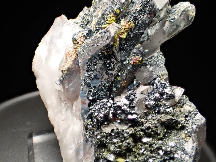 メッシナ産クォーツ、パパゴアイト、ヘマタイト&エピドート (Quartz, Papagoite, Hematite & Epidote / Messina)-photo15
