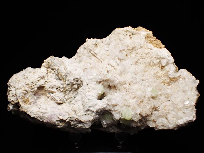 ニュージャージー産クォーツ、プレナイト&カルサイト (Quartz, Prehnite & Calcite / New Jersey)-photo0