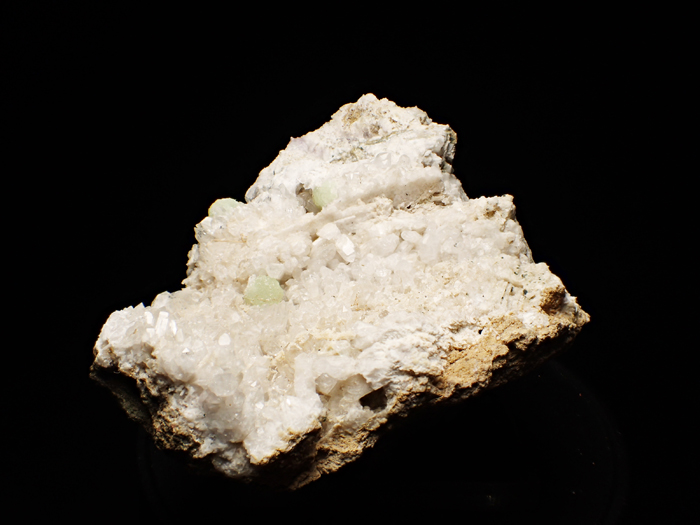 ニュージャージー産クォーツ、プレナイト&カルサイト (Quartz, Prehnite & Calcite / New Jersey)-photo3