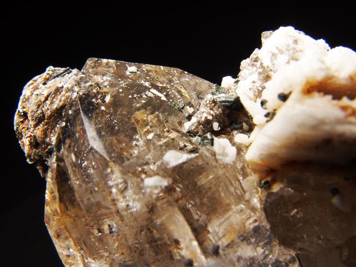 ネパール産クォーツ&バイオタイト (Quartz & Biotite / Nepal)-photo9