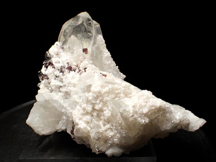ペルー産クォーツ&ヒュブネライト (Quartz & Hübnerite / Peru)-photo1