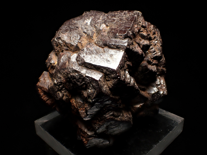 メキシコ産ゲーサイト <パイライト仮晶> (Goethite Pseudomorph after Pyrite / Mexico)-photo4