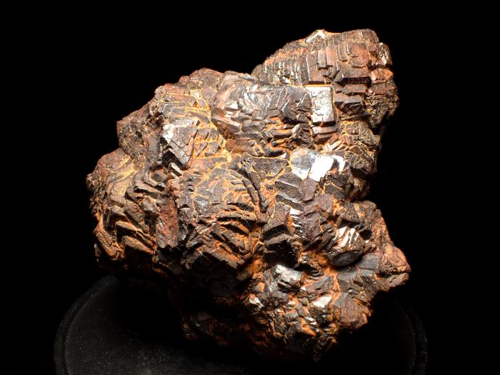 メキシコ産ゲーサイト <パイライト仮晶> (Goethite Pseudomorph after Pyrite / Mexico)-photo1