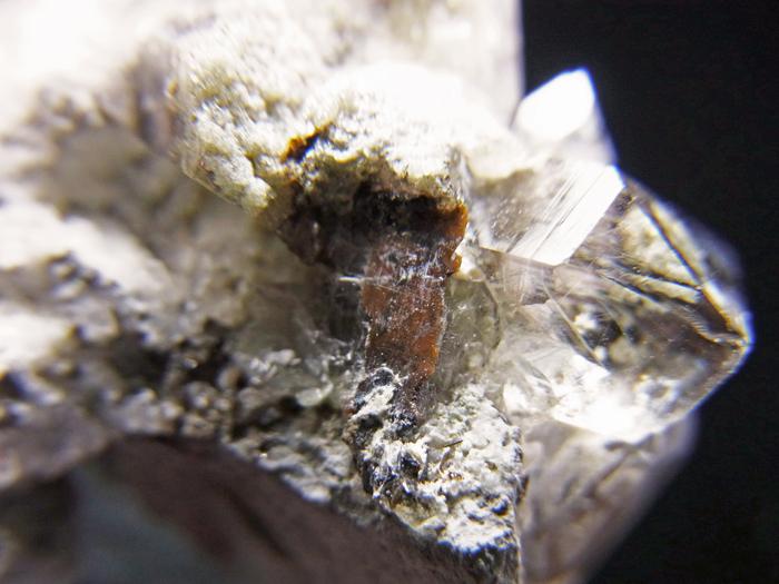 パキスタン産ブロッカイト、ルチル、クォーツ&クローライト (Brookite, Rutile, Quartz & Chlorite)-photo16
