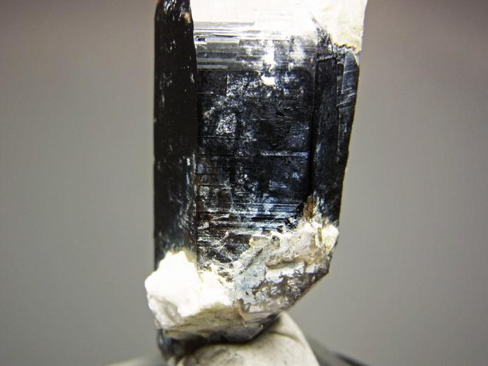 岐阜県鳶岩巣産 黒水晶&玉滴石 (Morion & Hyalite / Japan)-photo14