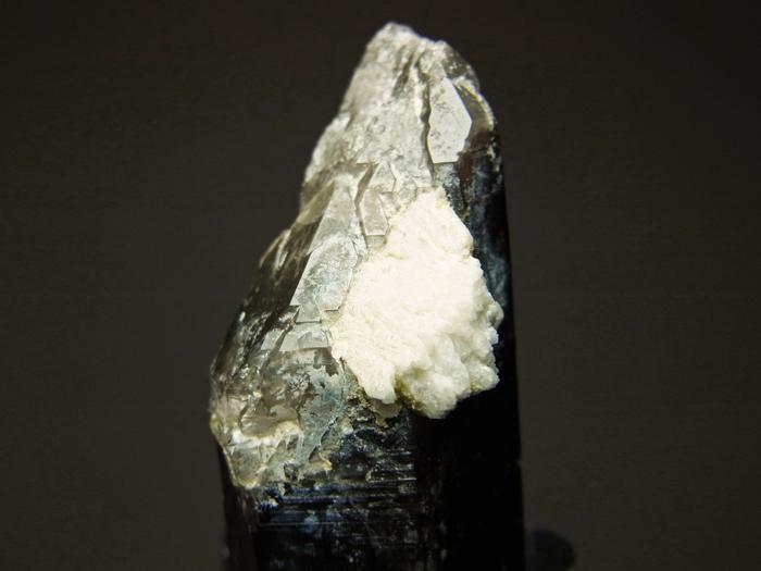 岐阜県鳶岩巣産 黒水晶&玉滴石 (Morion & Hyalite / Japan)-photo22