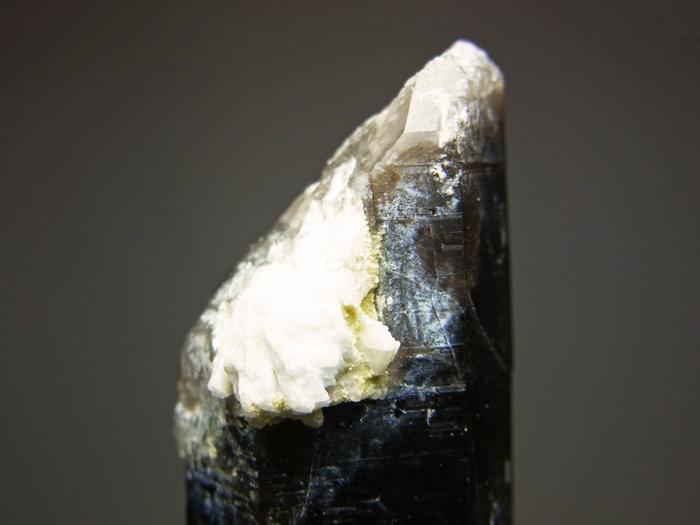 岐阜県鳶岩巣産 黒水晶&玉滴石 (Morion & Hyalite / Japan)-photo23
