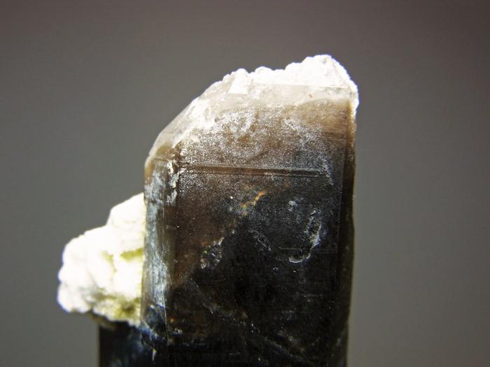 岐阜県鳶岩巣産 黒水晶&玉滴石 (Morion & Hyalite / Japan)-photo24