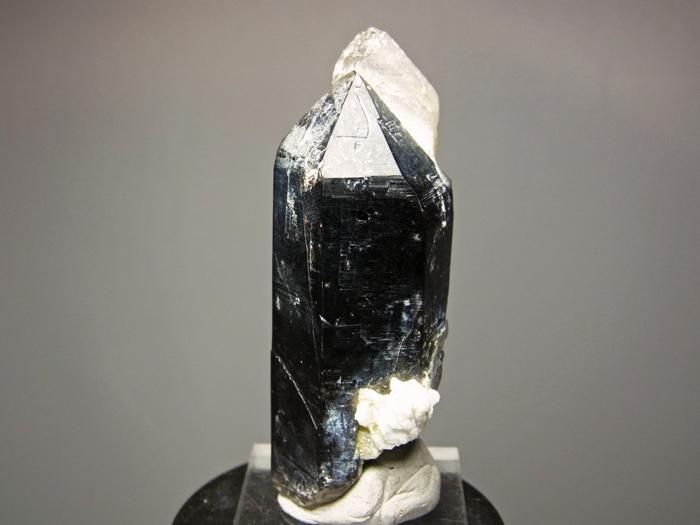岐阜県鳶岩巣産 黒水晶&玉滴石 (Morion & Hyalite / Japan)-photo27