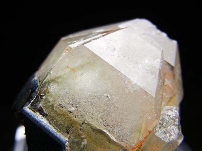 岐阜県鳶岩巣産 黒水晶&玉滴石 (Morion & Hyalite / Japan)-photo8