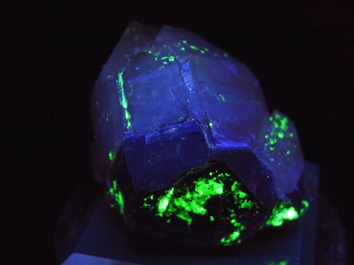 岐阜県鳶岩巣産 黒水晶&玉滴石 (Morion & Hyalite / Japan)-photo16