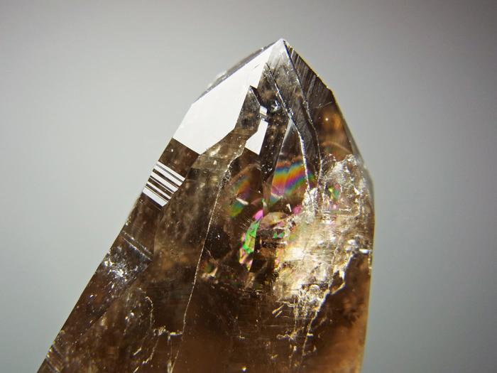 山梨県黒平産 煙水晶&白雲母 (Smoky Quartz & Muscovite / Japan)-photo12