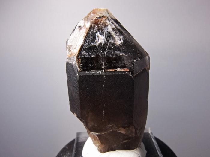 岐阜県苗木産 煙水晶&玉滴石 (Smoky Quartz & Hyalite / Japan)-photo0