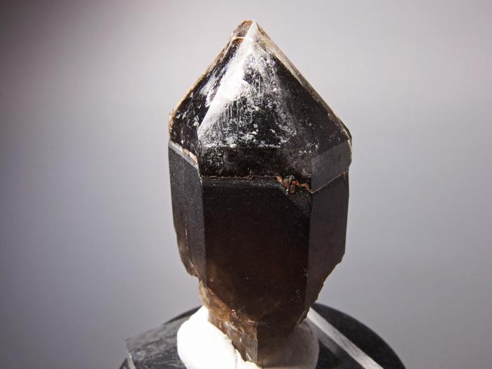 岐阜県苗木産 煙水晶&玉滴石 (Smoky Quartz & Hyalite / Japan)-photo1