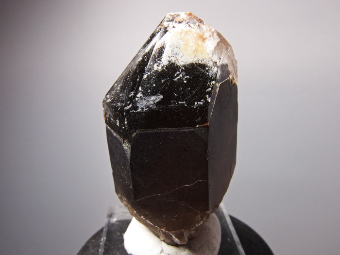 岐阜県苗木産 煙水晶&玉滴石 (Smoky Quartz & Hyalite / Japan)-photo3