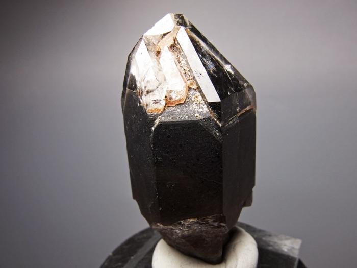 岐阜県苗木産 煙水晶&玉滴石 (Smoky Quartz & Hyalite / Japan)-photo5