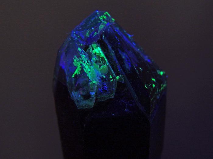 岐阜県苗木産 煙水晶&玉滴石 (Smoky Quartz & Hyalite / Japan)-photo10