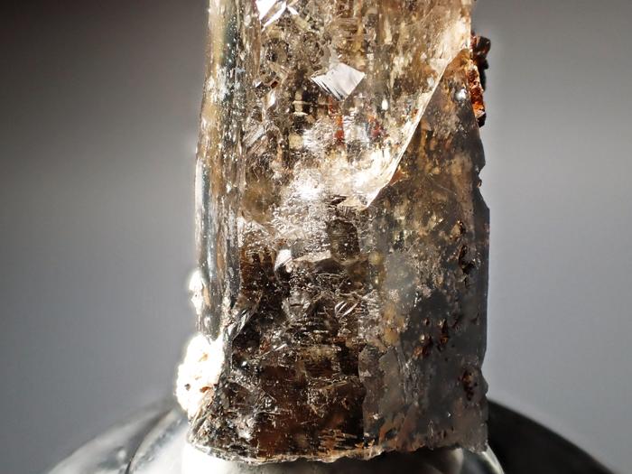 マラウイ産スモーキークォーツ、リーベカイト&シデライト仮晶 (Smoky Quartz, Riebeckite & Goethite after Siderite / Malawi)-photo14