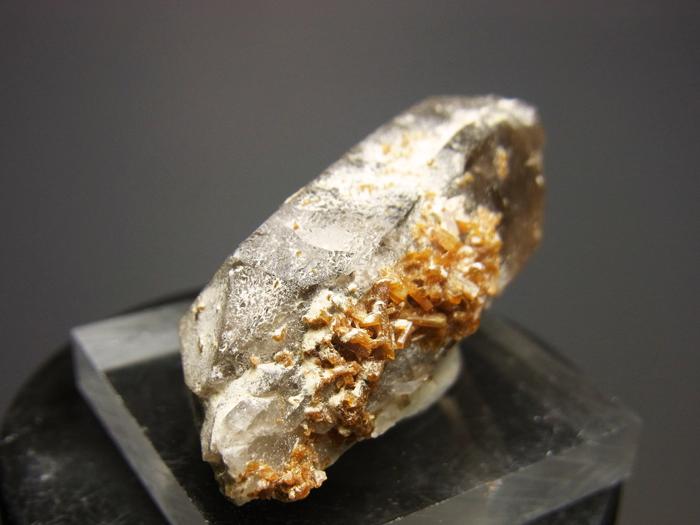 ポーランド産スモーキークォーツ、ベイブナイト&スティルバイト (Smoky Quartz, Bavenite & Stilbite)-photo14
