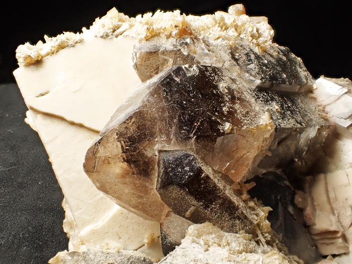ポーランド産スモーキークォーツ、エピドート&マイクロクリン (Smoky Quartz, Epidote & Microcline / Poland)-photo14