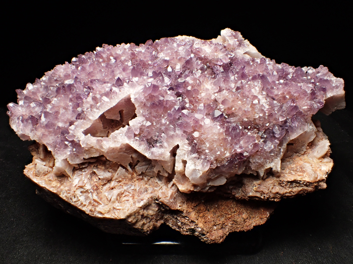 トルコ産アメジスト <バライト仮晶> (Amethyst Pseudomorph after Baryte / Turkey)-photo0