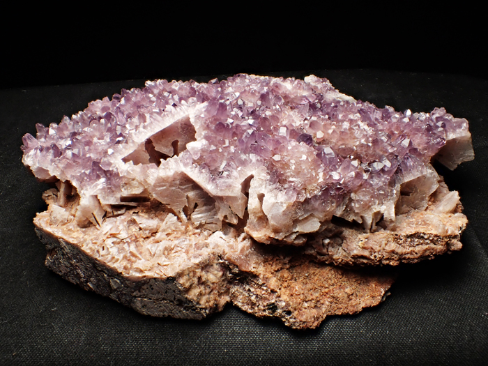 トルコ産アメジスト <バライト仮晶> (Amethyst Pseudomorph after Baryte / Turkey)-photo1
