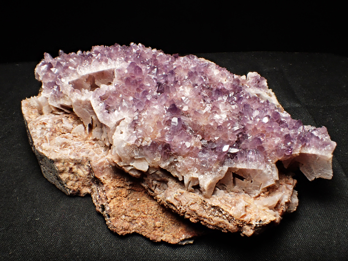 トルコ産アメジスト <バライト仮晶> (Amethyst Pseudomorph after Baryte / Turkey)-photo2