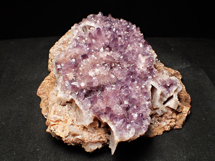 トルコ産アメジスト <バライト仮晶> (Amethyst Pseudomorph after Baryte / Turkey)-photo3