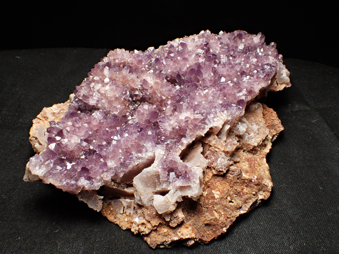 トルコ産アメジスト <バライト仮晶> (Amethyst Pseudomorph after Baryte / Turkey)-photo4