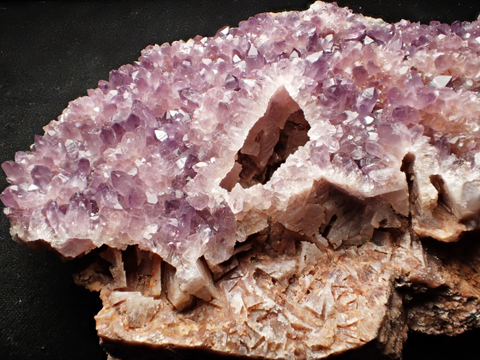 トルコ産アメジスト <バライト仮晶> (Amethyst Pseudomorph after Baryte / Turkey)-photo17