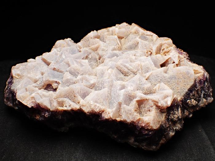 トルコ産アメジスト <カルサイト仮晶> (Amethyst Pseudomorph after Calcite / Turkey)-photo8