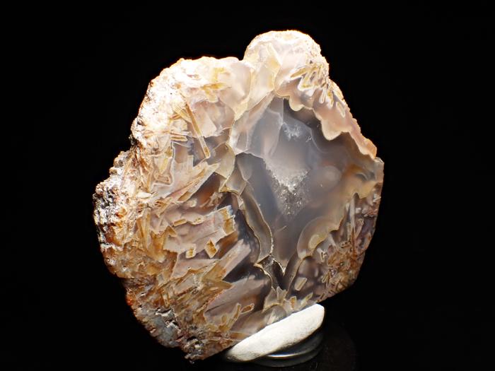 トルコ産アゲート <バライト仮晶> (Agate Pseudomorph after Baryte / Turkey)-photo2