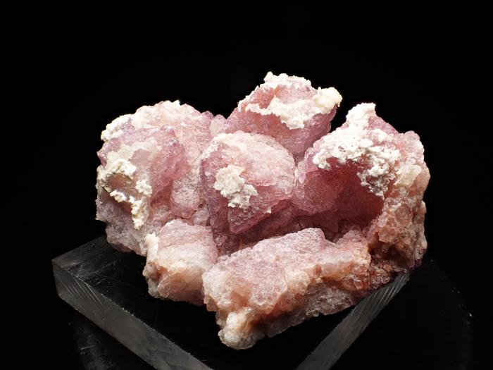 アリゾナ産フローライト&ハイアライト (Fluorite & Hyalite / Arizona)-photo1