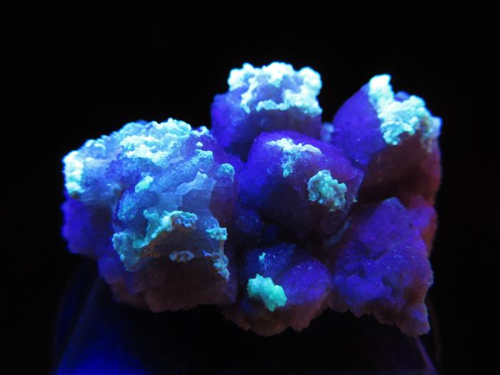 アリゾナ産フローライト&ハイアライト (Fluorite & Hyalite / Arizona)-photo9